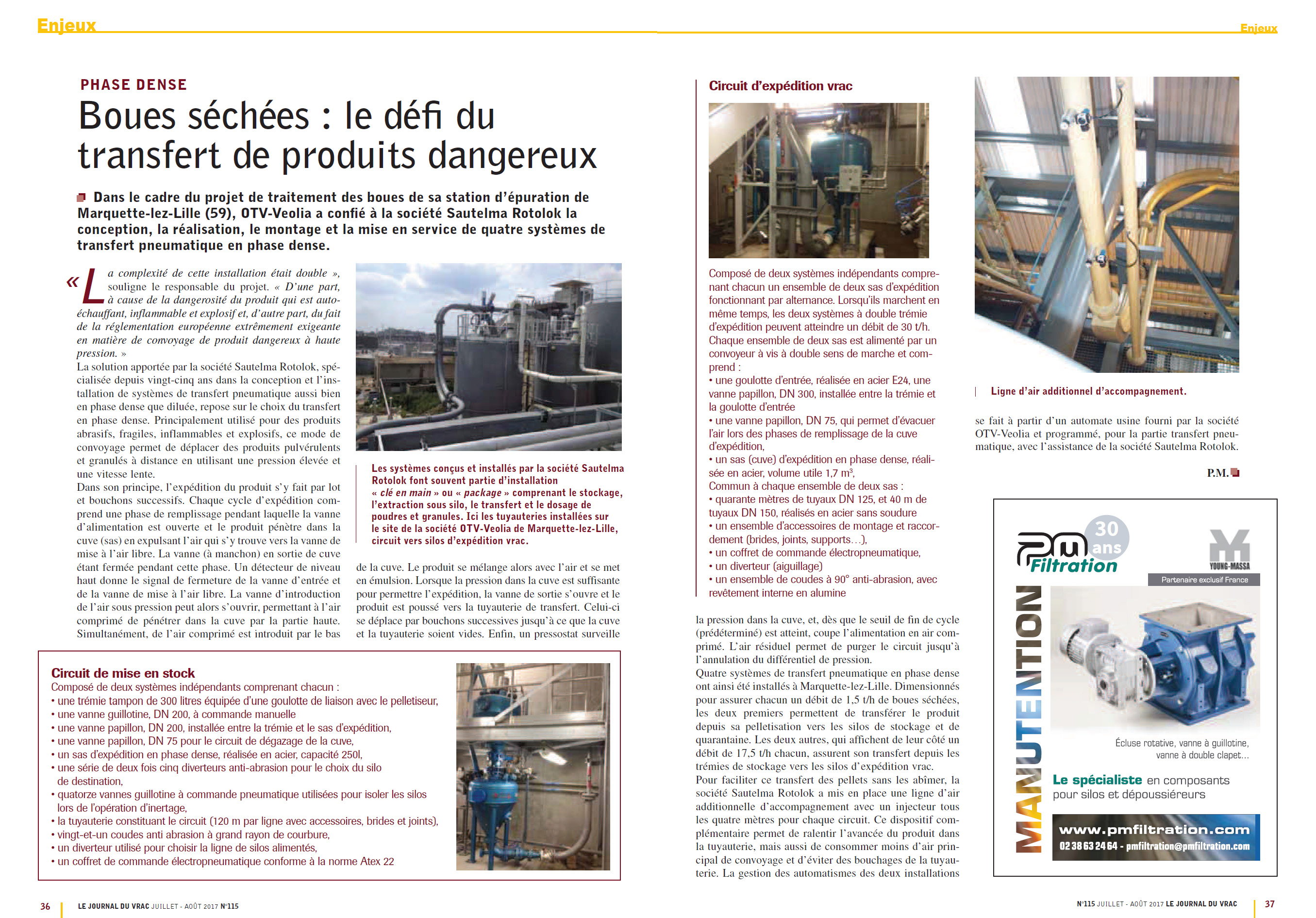 Article Boues sechees